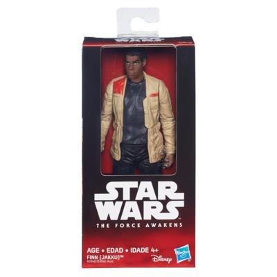 S&W Hasbro - B3948 - Figura Personaje de Finn (Jakku) de Star Wars The Force Awakens El Despertar de la Fuerza Original - Multicolor - 15cm