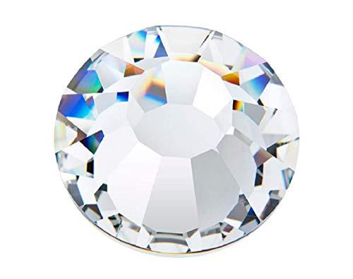 Preciosa/Ornela 72 pcs MC Chaton Rose VIVA12 SS 20, Crystal Silver Foiled, Czech Glass