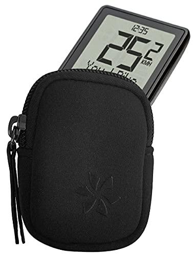 honju Bike Neopren Tasche für Sigma EOX View 1200/1300 (Bildschirmschutz, Schutz vor Kratzer und Dreck) - schwarz