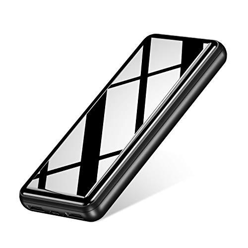 Batería Externa 26800mAh con 2 Puertos de Salidas USB 2.4A Carga Rápida Power Bank Portátil para Móvil Xiaomi Redmi Samsung Huawei y más Smartphone