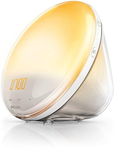 Philips - Premium Wake Up Light with Sunrise Simulation HF3520-60