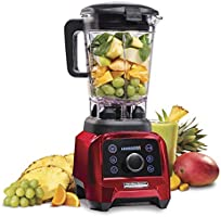 Hamilton Beach Professional Cold & Hot 1.8L Blender, 1400 Watt, 4 Presets Soup Smoothie Ice Crush Juice, Intelligent,...