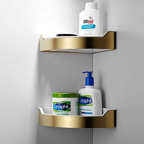 DSD Shampoo Stand Brushed Gold 2 Layer Handtuchhalter