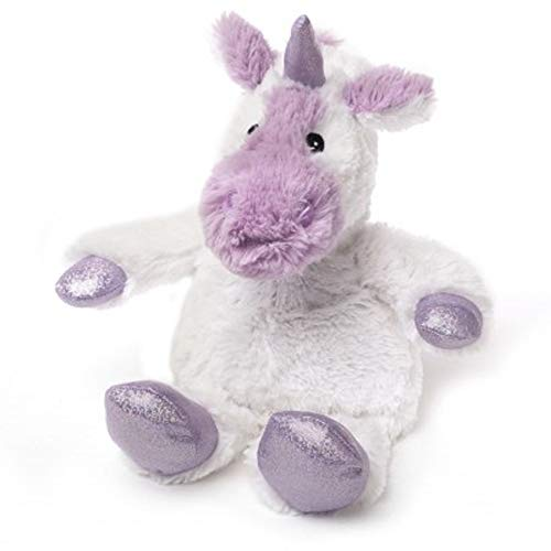 Warmies Cozy Plüsch Sparkle Limited Edition Weiß Einhorn Microwavable Soft Toy