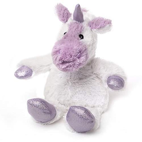 Warmies Cozy Plüsch Sparkle Limited Edition Weiß Einhorn Microwavable Soft Toy