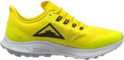 Nike Womens WMNS AIR Zoom Pegasus 36 Trail Running Shoe, Opti Yellow/Black-Speed Yellow, 39 EU