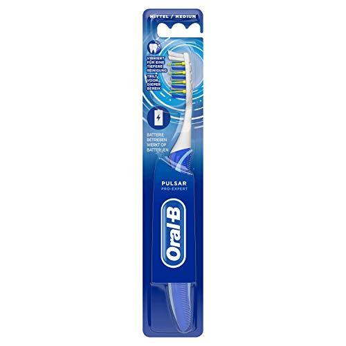 Oral-B Pulsar Pro-Expert Batteriebetriebene Handzahnbürste, farblich Sortiert