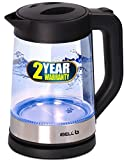 iBELL Hold The World. Digitally! GEK17L 1500 Watt 1.7 L Electric Glass Kettle