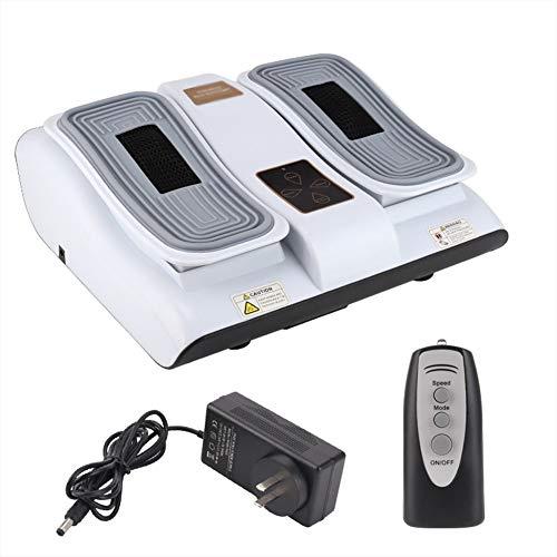 ACEWD Beinmassagegerät, Vibrationsplatte, Kombination Aus Vibration Vibro Und Massage, Inkl. Fernbedienung Zur Verbesserung Der Durchblutung Und Linderung Von Schmerzen