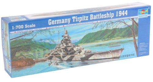 Trumpeter 05712 Modellbausatz Schlachtschiff Tirpitz