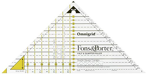 Fons & Porter R7843 Half & Quarter Ruler