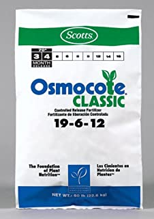 Osmocote Fertilizer 19-6-12, Slow Release 3-4 Months (50 Pound Bag)