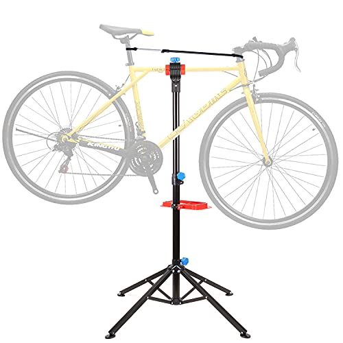 Cavalletto Manutenzione Bici, Supporto da Montaggio per Biciclette, Supporto Cavalletto per Bicicletta Resistente Fino a 50 kg