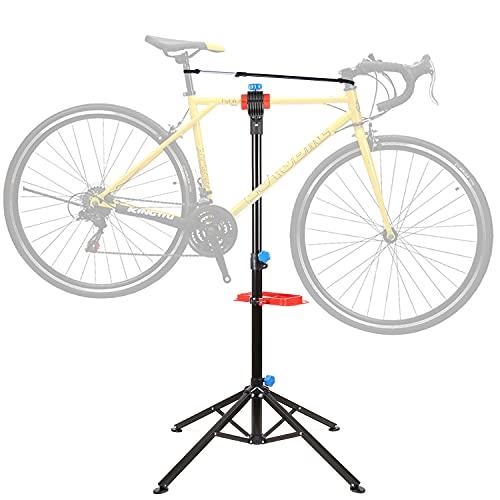 Cavalletto Manutenzione Bici, Supporto da Montaggio per Biciclette, Supporto Cavalletto per...