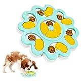 KATELUO Dog Puzzle Feeder, Treat Dispenser Toy, Giocattolo Interattivo per Cani, Gioco Intelligenza Cane, Giochi Attivazione Mentale Cane