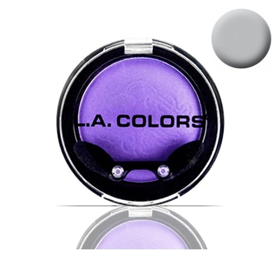 顎アジャ人種LA COLOR Eyeshadow Pot - Sterling (並行輸入品)