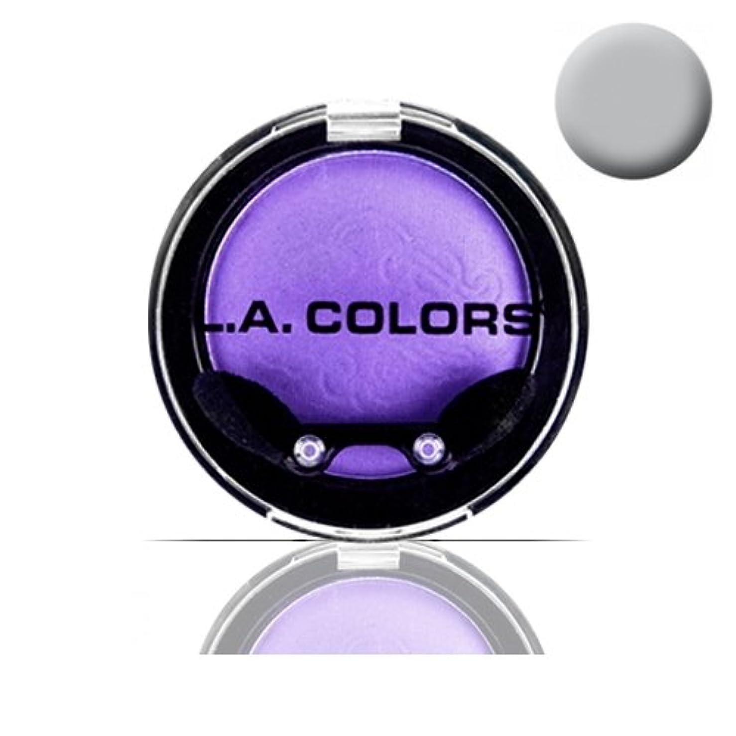 厚い洪水カバレッジ(3 Pack) LA COLOR Eyeshadow Pot - Sterling (並行輸入品)