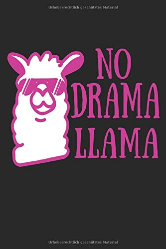 no Drama Lama: Punktiertes Notizbuch oder Notizheft für Lama Queen!!! Auf 120 weiße punktierte Seiten. gepunktet punkte Eintragen was ihr wollt. Skizzen notizen planung dot grip 6x9 Format l
