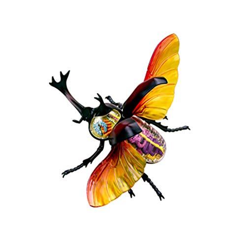 Mfnyp 4D Hercules Beetle Anatomische Modelle Innerer Organ Skeleton Gruppe Versammlungs-Modell Abnehmbare Simulation Tier Insekt Puppe Dekoration (Größe: 34 * 27,5 * 13cm)