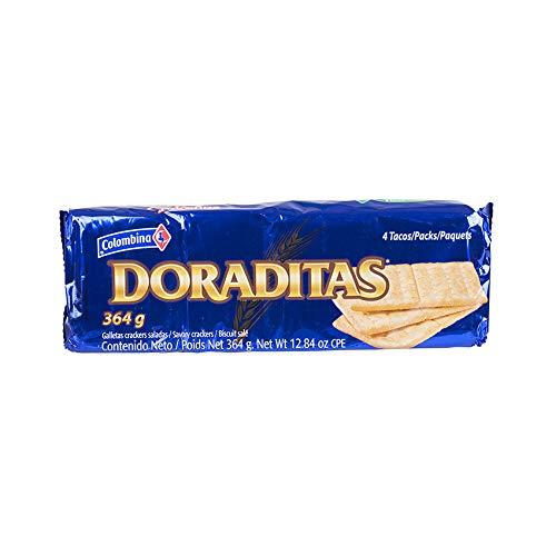 COLOMBINA Crakeñas Doraditas - Galletas Saladas, 364g
