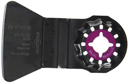 Bosch Professional Schaber starr, 10 Stück (Mörtel, Fliesenkleber, Betonreste, für Multifunktionswerkzeuge Starlock, Starlock Plus/Max, ATZ 52 SC)