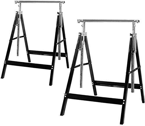 Saw Horses Lifting Brackets,Sawhorses Brackets 2x4 Heavy Duty Sawhorses Adjustable Height Twin Pack 2Pack