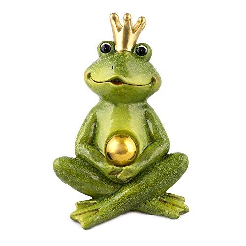 pajoma Froschkönig in Grün und goldener Kugel