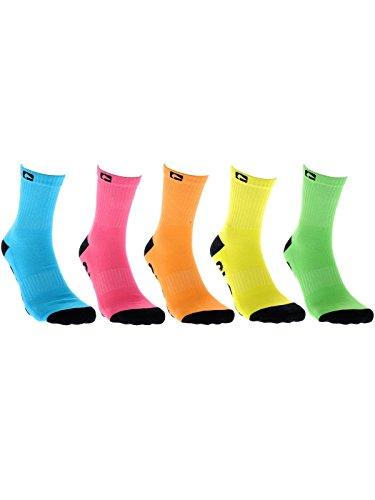 Globe Kinder Socken Neon 5 Pack Ankle Socks Boys