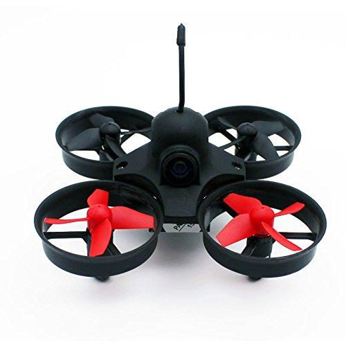 Poke FPV Indoor Mini UFO Quadcopter Drone Mini RC Helicopter Drone 5.8G 25mW Camera...