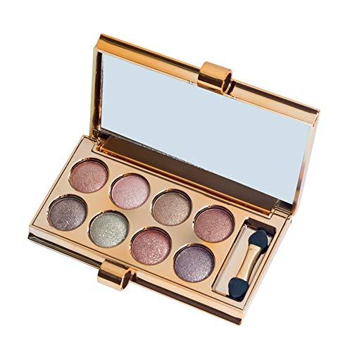 Lovinda Lidschatten Palette 8 Farben Pfirsich Make-up geräucherte Erde Farbe Make-up Augenschatten...