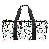 Sporttaschen für Herren Damen 18',Fahrrad mit Fester Gangschaltung