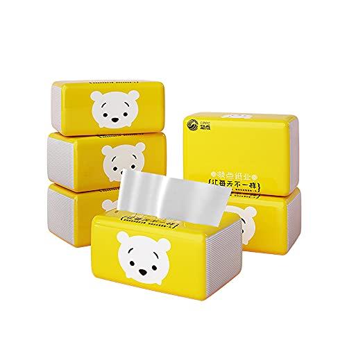 Servilletas de papel higiénico ecológicas 4 paquetes de papel de seda panda