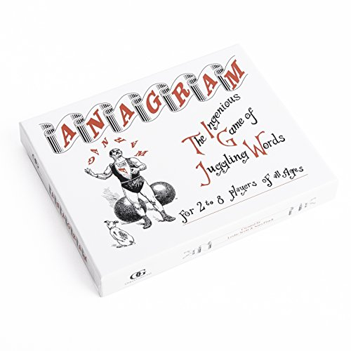 Anagram  The Ingenious Game of Juggling Words  For 2 to 8 Playes of All Ages  Made in England