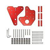 MAIO Fit for Ender 3 3Pro 3 V2 Fit para CR-10 CR-10S CR-10 V2 CR-10 Pro 3D Piezas Impresas 3D Dual Z-Axis Lineal Guía de la Placa Trasera Kit Service