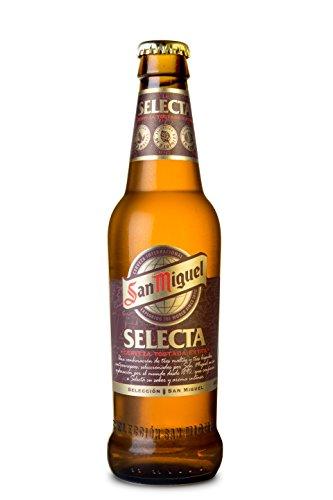 San Miguel Selecta - Cerveza Especial Rubia Botella 330 ml (1 unidad)