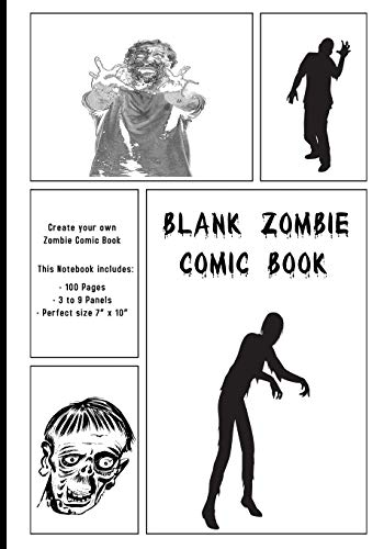 Blank  Zombie Comic Book: Create your own Zombie Comic Book