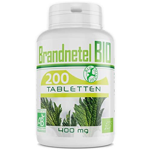 BIOLOGISCHE Brandnetel - 400 mg - 200 tabletten