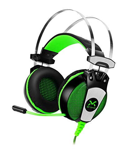 3GO Auriculares Gaming DROXIO HADLOK Drivers 50MM 108DB 20HZ-20KHZ MICROFONO RETRACTIL Cable 2.2M USB+2X3.5MM