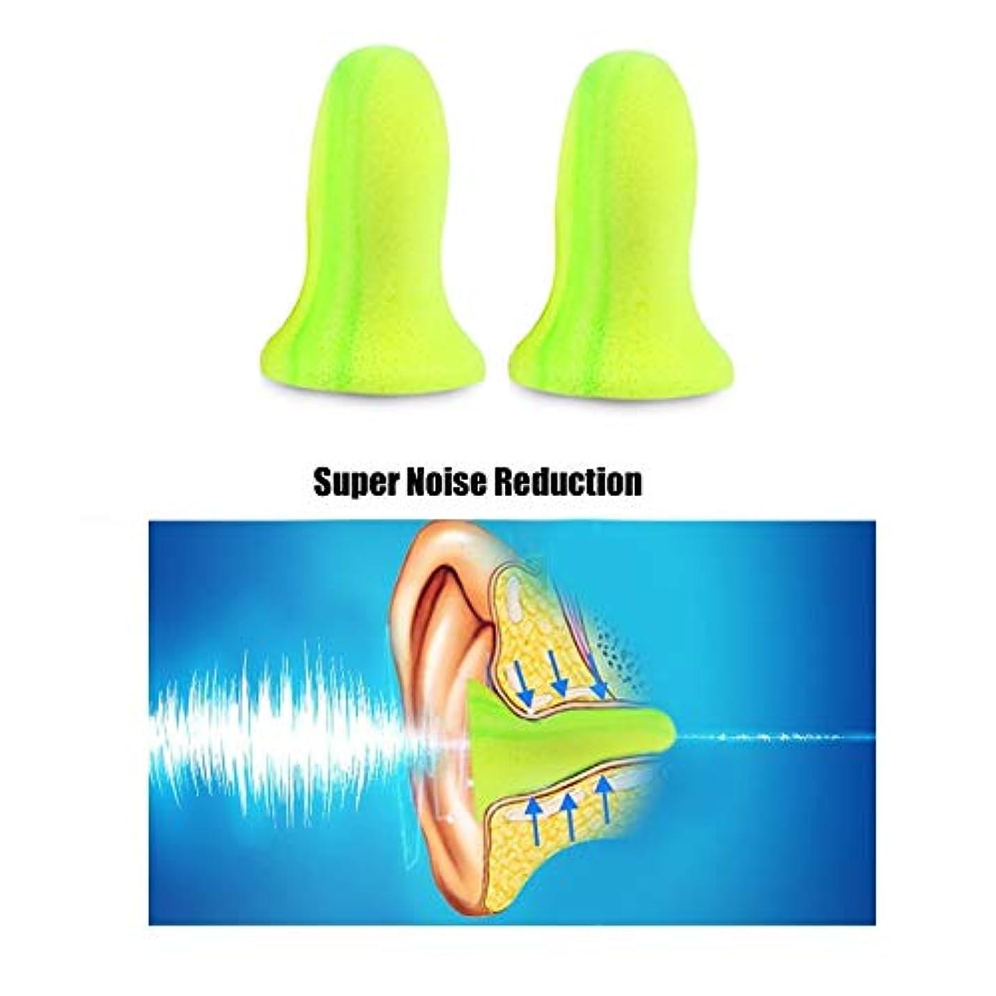 与えるメタルラインシュートNOTE 2ピース/ボックス高品質ソフト泡耳栓旅行睡眠ノイズ防止耳栓ノイズリダクションアクセサリー滑りやすいツール