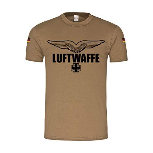 Copytec BW Tropen Luftwaffe Bundeswehr Abzeichen Schwingen Flügel #30213, Größe:L, Farbe:Khaki
