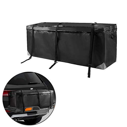 VaygWay Hitch Cargo Carrier Bag – Waterproof Heavy Duty Cargo Bag – Traveling Camping Cargo Storage Bag – Universal Car Truck Van SUV