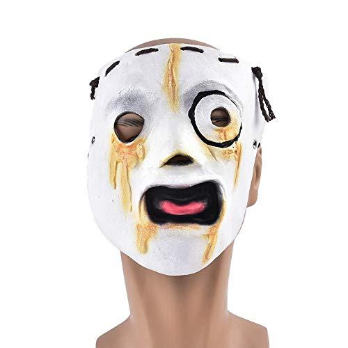 Máscara de Halloween Máscara Cosplay horror danza de la mascarilla Diversión Grabando...