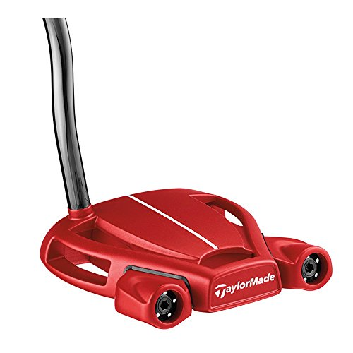 TaylorMade 2018 Spider Tour Red Putter (Double Bend, Right Hand, 35 Inches, with Sightline)