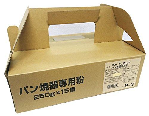 パイオニア 徳用春よ恋100%パン焼器専用粉 250X15