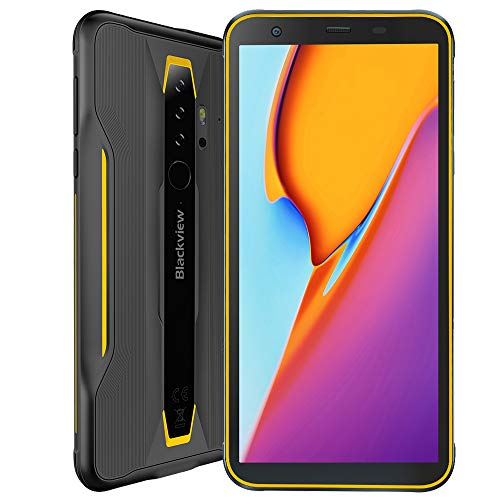 Robuste Telefone Blackview BV6300 (2020) Smartphone ohne Vertrag, Android 10 Octa-Core 3 GB + 32 GB, 13 MP HD + 5,7