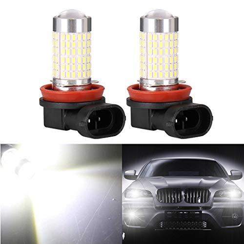 Luces Fuertes Para Auto Coche 5202 H16 6000K Blanco LED Luz De Niebla Bulbs