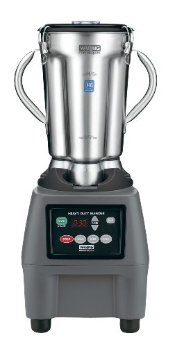 Waring Commercial CB15T Food Blender with Electronic Keypad and Timer, 1-Gallon