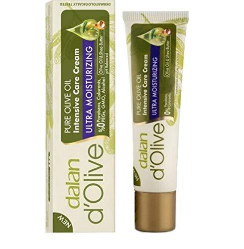 Mini Dalan d'Olive Lot de 6 crèmes hydratantes intenses pour les mains et le corps pour peaux sèches 20 ml