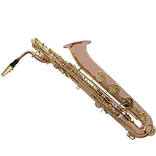 Saxophone Professional Baritone E Flat Lacquered Gold Phosphor Bronze Saxophone Brass Saxophone