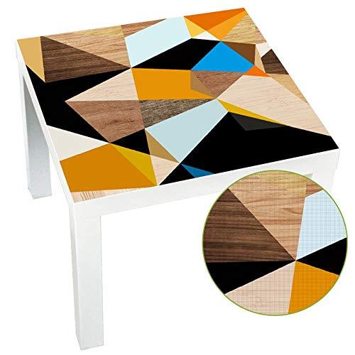 YOSICIK Wandaufkleber DIY Küchentisch Aufkleber Tuch Wasserdicht SchälenUnd Stick Möbel Wandaufkleber Lack Tischplatten Schreibtisch 55X55 cm
